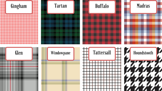 Different Styles of Plaid